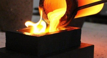 How is the induction heating applied in precious metal melting&Casting