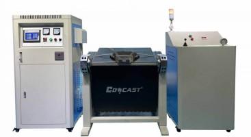 hydraulic tilting metal melting machine