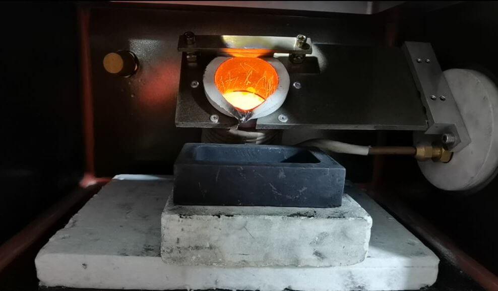 Lab Vacuum Induction Melting Furnace