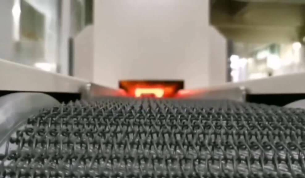 Mesh belt Welding furnace