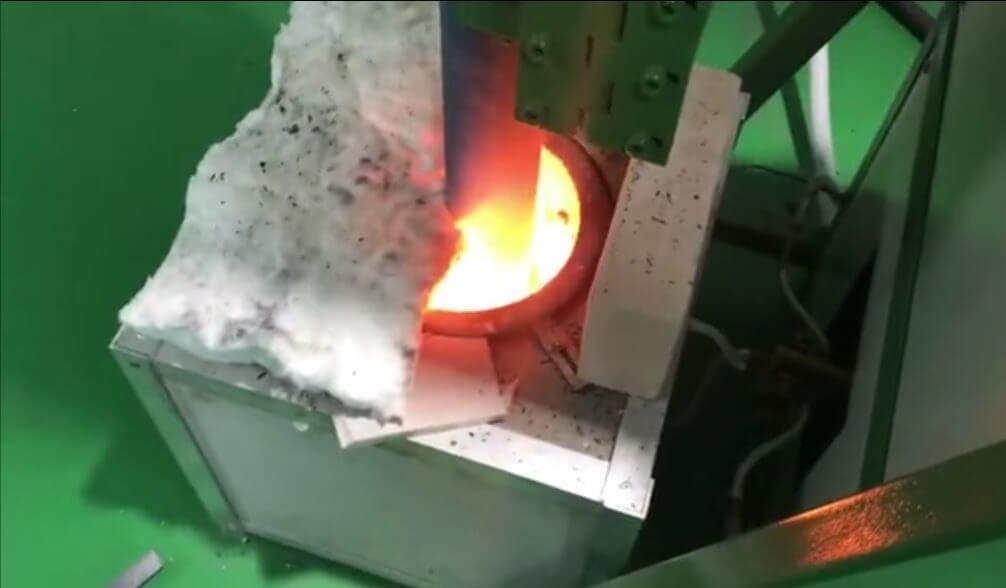 Small Upward Casting Machine