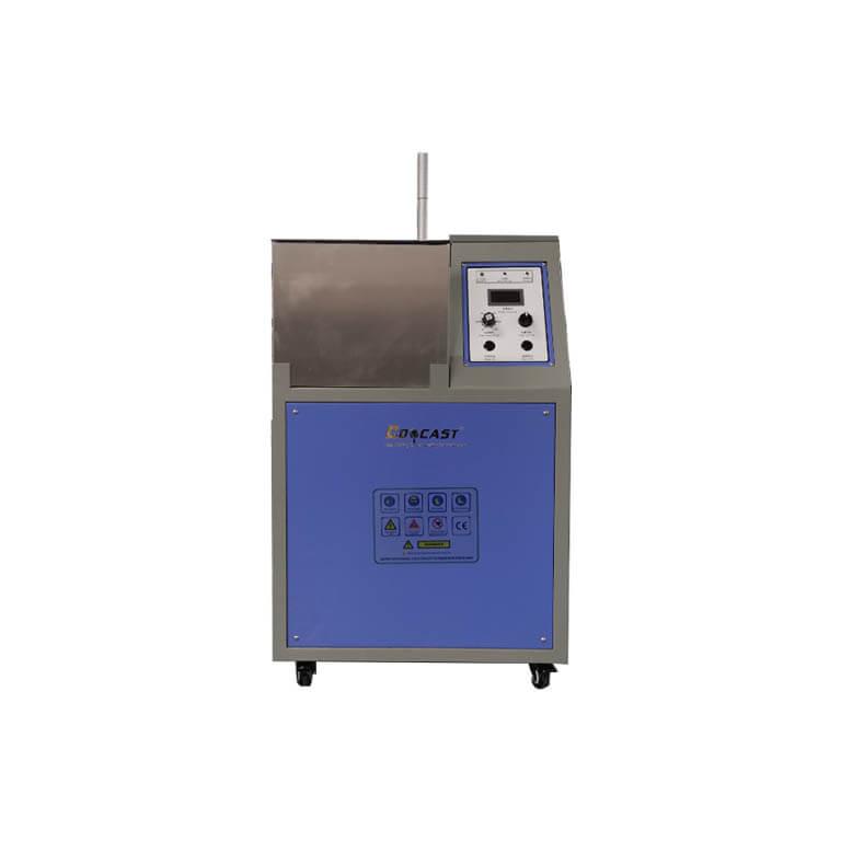 1-15kg Manual Tilting Gold smelting furnace