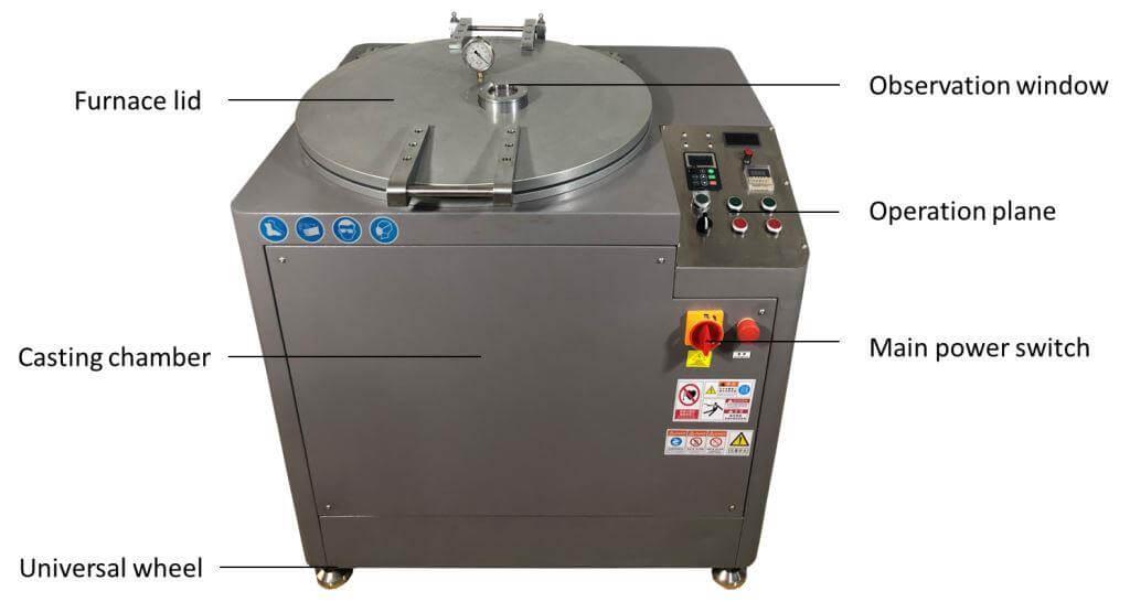 Centrifugal Vacuum casting machine