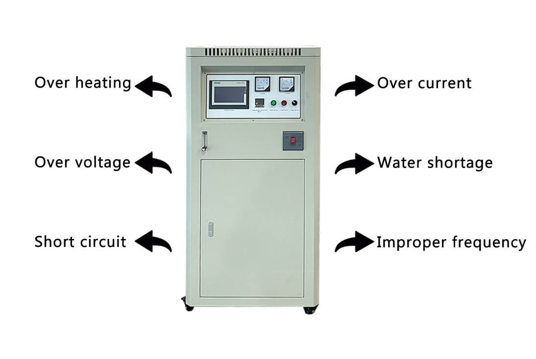 Hydraulic Titling Small Induction Furnace POWER
