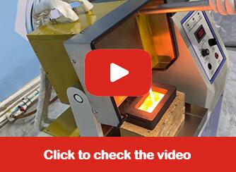 Manual Tilting Gold Smelting Furnace