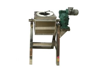 Motor Tilting Metal Melting Furnace