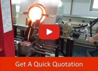 Motor Tilting Metal Melting Furnace videov