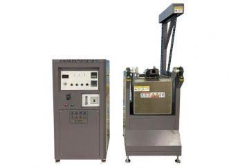 chain motor tilting melting machine