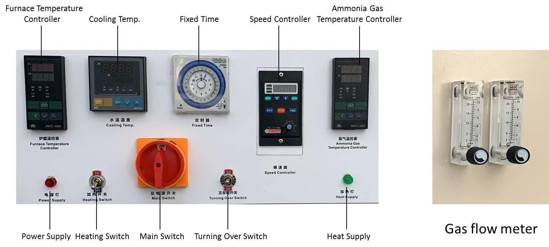 mesh belt heat treatment furnace