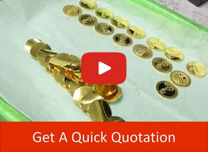 gold coin press
