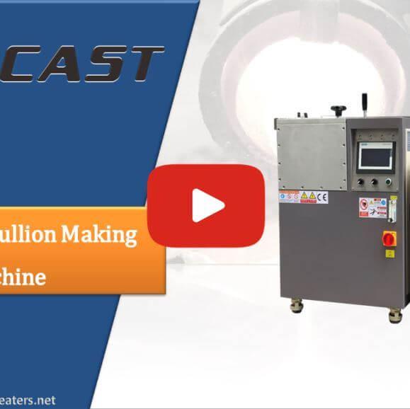 Vacuum Gold Bar Casting Mahcine