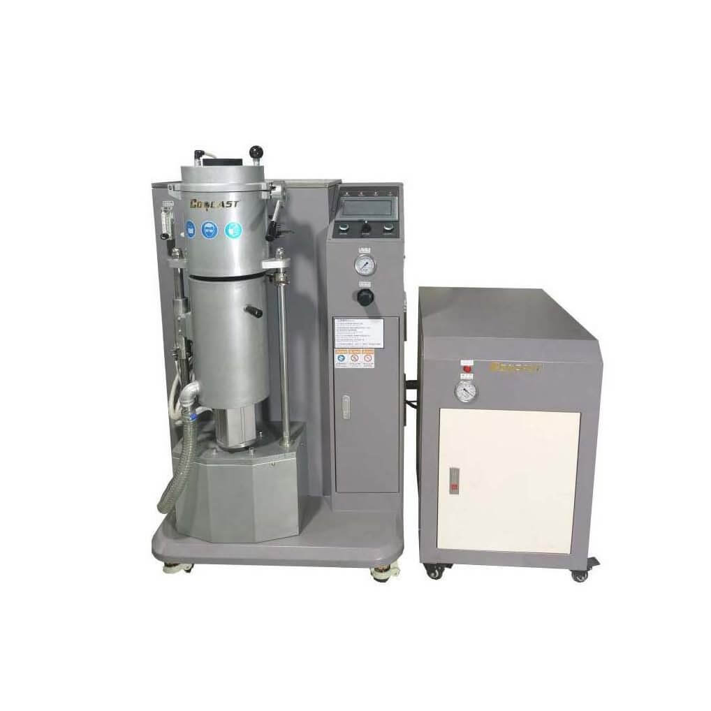 Metal granulator
