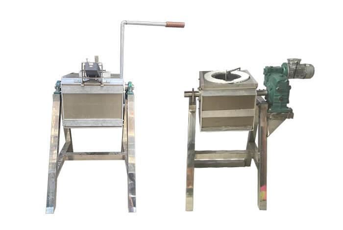 manual Motor Tilting Metal Melting Furnace