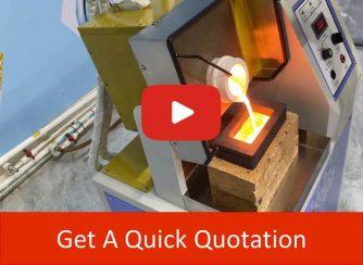 manual tilting furnace video