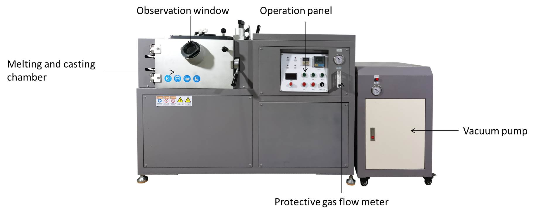 small vacuum melting furnace