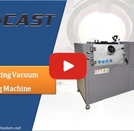 Small Manual Tilting Vacuum Melting Machine