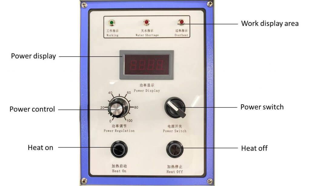 manual tilting furnace