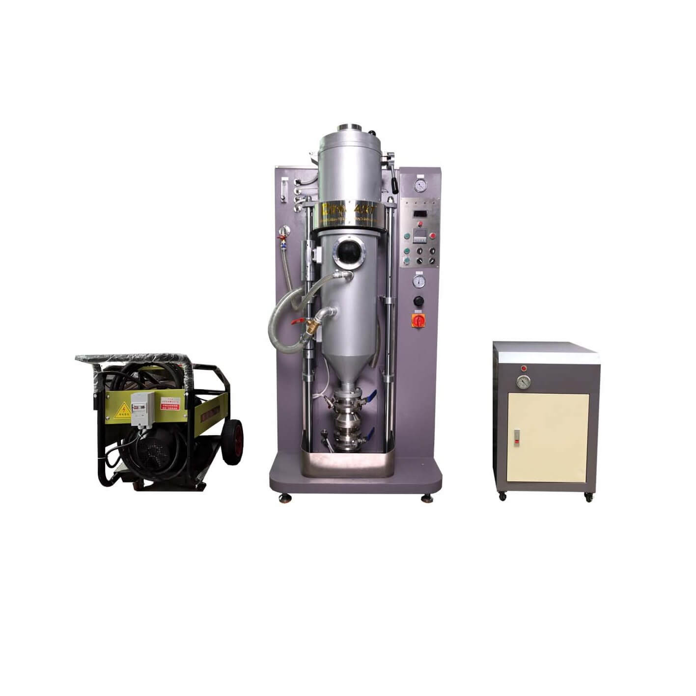 Vacuum powder making machine