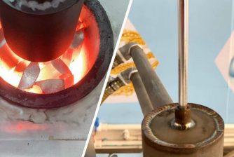 upward casting machine application