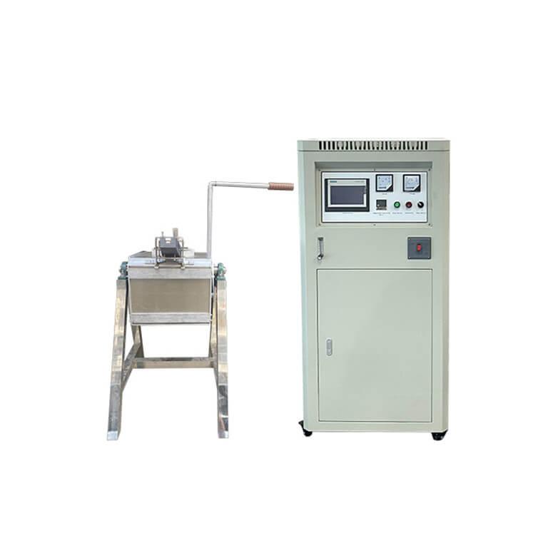 motor tilting melting furnace