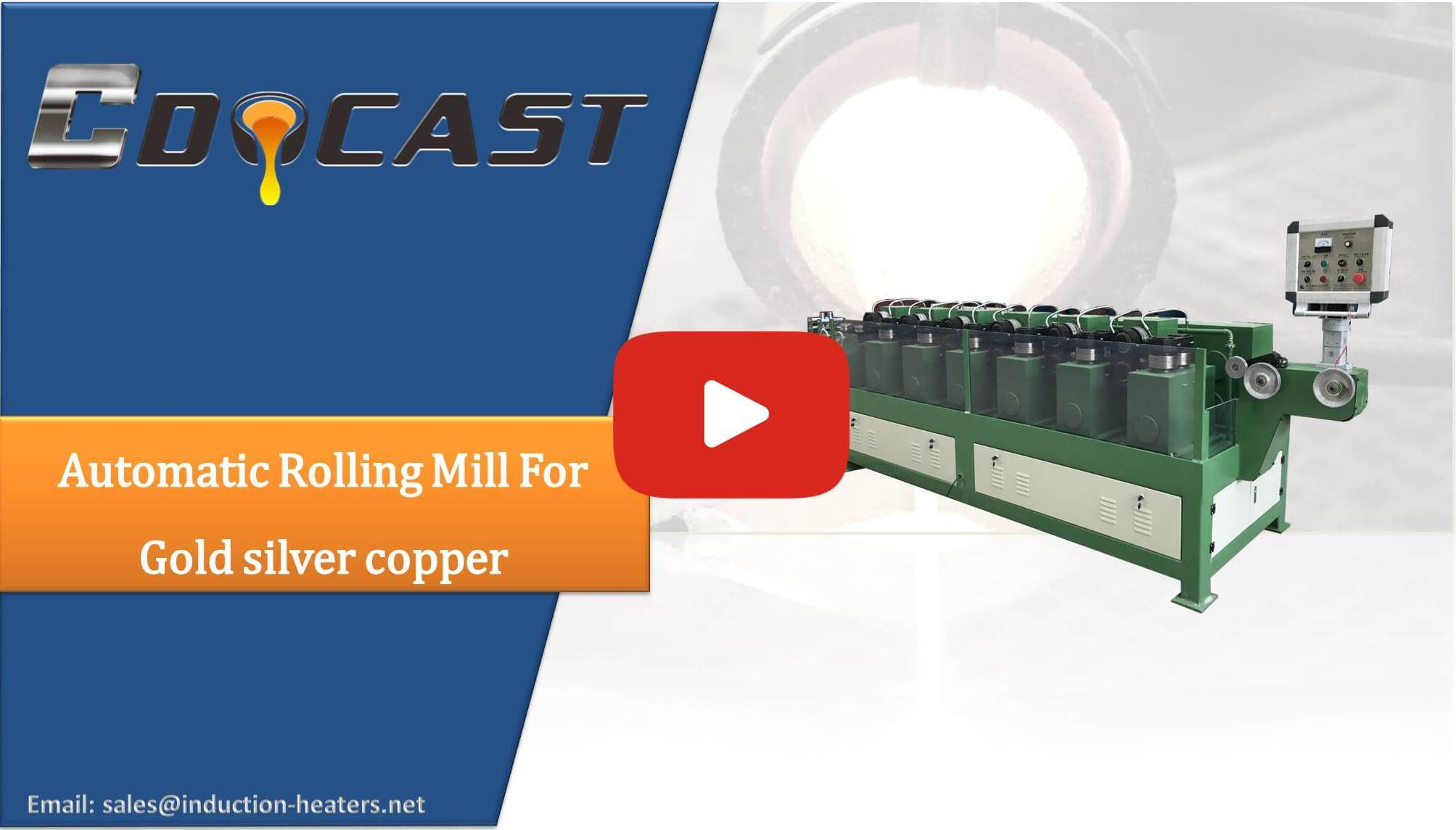 Automatic Rolling Mill For Gold,silver copper wire drawing