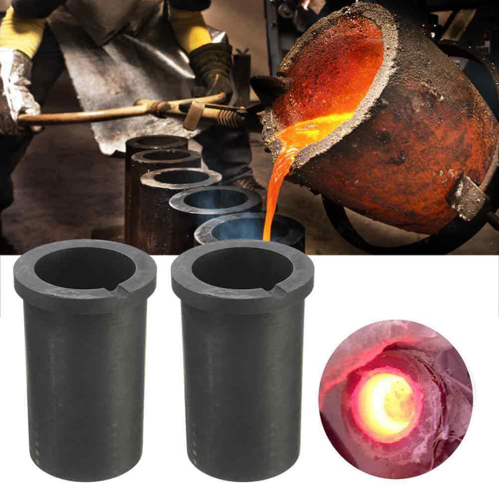 Graphite Crucible & Mould For Mini Gold Melting Furnace