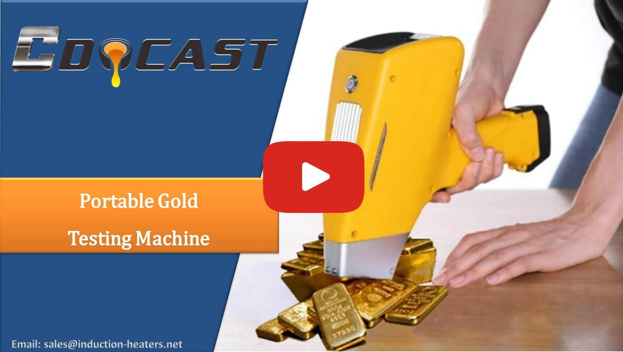 portable gold testing machine