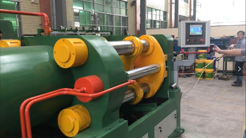 Metal continuous extruding equipment